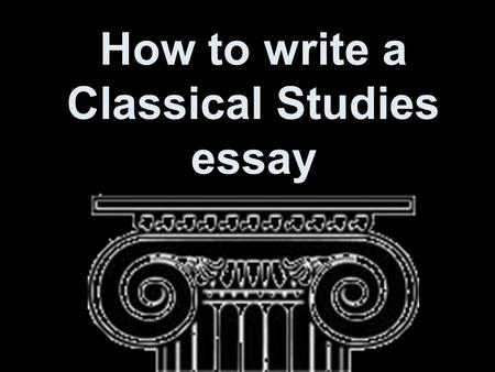 How to write a thesis statement hsc