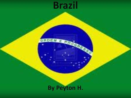 Brazil By Peyton H.. This is the map of Brazil Population Population is 205,716,890. Growth rate 1.1%. Birth rate 17.48/1000. Death rate is 6.38/1000.
