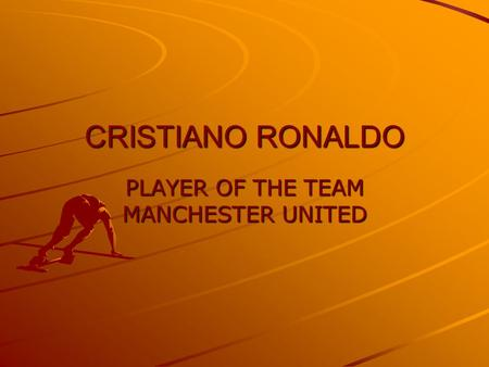 PLAYER OF THE TEAM MANCHESTER UNITED