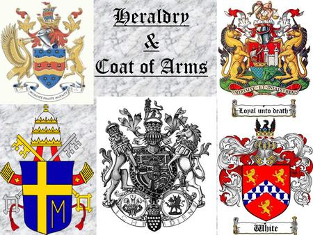 Heraldry & Coat of Arms.