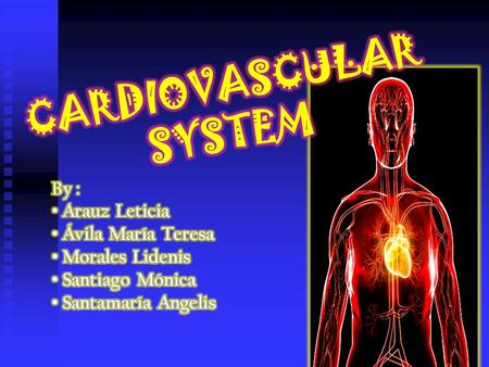 IMPORTANCE OF THE CARDIOVASCULAR SYSTEM COMPONENTS OF CARDIOVASCULAR SYSTEM DEFINITION OF CARDIOVASCULAR SYSTEM PHYSIOLOGY OF THIS SYSTEM.