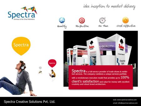 Spectra : Services We Offer. Spectra : Services We Offer.