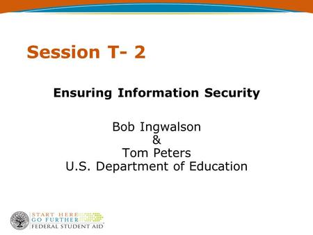Ensuring Information Security