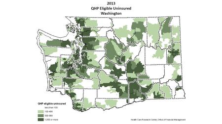 2013 QHP Eligible Uninsured Washington. 2014 QHP Eligible Uninsured Washington.
