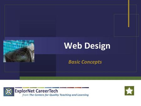 Web Design Basic Concepts. Web Design Web Design: Web design is the creation of a Web page using hypertext or hypermedia to be viewed on the World Wide.