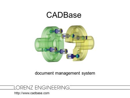 document management system CADBase.