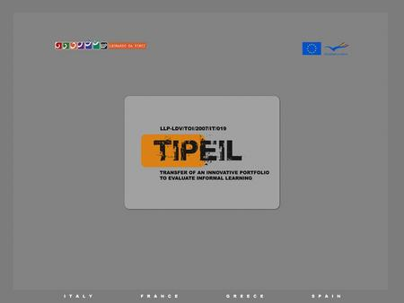 TECHNICAL GUIDELINES. HOW TO USE THE TIPEIL WEB-BASED PLATFORM Session 1 - Create a digital portfolio.