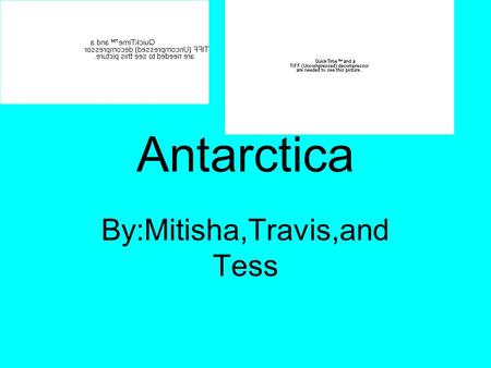 Antarctica By:Mitisha,Travis,and Tess. Physical Appearance Surrounding water: Weddell sea,Ross sea,and Indian ocean. The landforms are,mountains, Lowlands,and.
