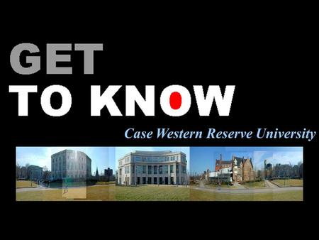 Case Western Reserve University. Overview Academics Student Life University Circle and Cleveland Admission and financial aid.