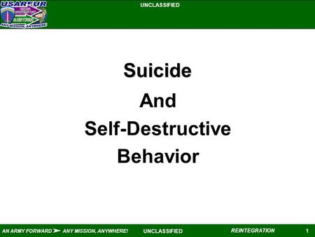 a description of the self destruction suicide Free online library: aboriginal suicide is different: a portrait of life and self-destruction(book review) by australian aboriginal studies anthropology, archeology, folklore ethnic, cultural, racial issues books book reviews.