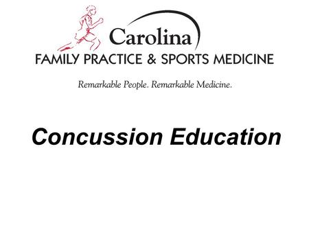 Concussion Education. Tragedy opens the door for education, increased awareness, and law In North Carolina… –Gfeller-Waller Law passed in June 2011 Three.