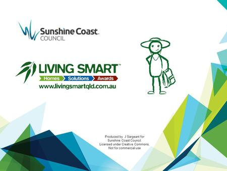 Produced by J Sargeant for Sunshine Coast Council. Licensed under Creative Commons, Not for commercial use.