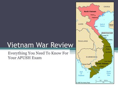 Vietnam War Review Everything You Need To Know For Your APUSH Exam.