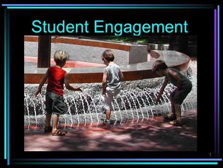 1 Student Engagement. 2 Increasing Student Engagement Phillip Schlechty's Working on the Work.
