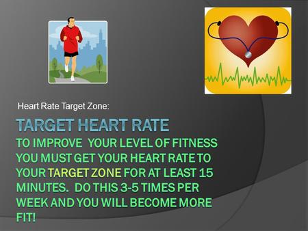 Heart Rate Target Zone:. How To Find It  Maximum Heart Rate =220 minus your age.  Or 207-(.7 x age in years) more accurate  Your Target Heart Rate.