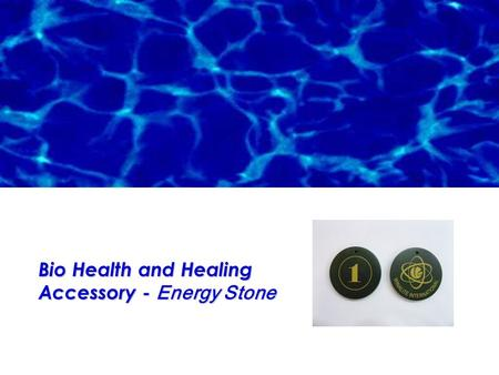 "Bio Health and Healing Accessory - Energy Stone. ""Negative ions increase the flow of oxygen to the brain; resulting in higher alertness, decreased drowsiness,"