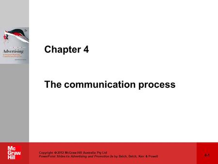 Chapter 4 The communication process