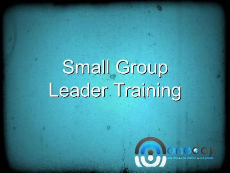 Small Group Leader Training. Teaching25.1% Leadership20.3% Evangelism19.0% Pastoral Care10.6% Mercy10.6% Other14.4% Relax Home Cell Group Explosion Relax.