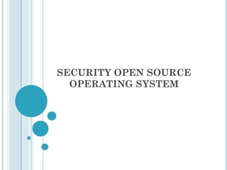 SECURITY OPEN SOURCE OPERATING SYSTEM. NESSUS The versatile Nessus® vulnerability <strong>scanner</strong> provides patch, configuration, and compliance auditing; mobile,