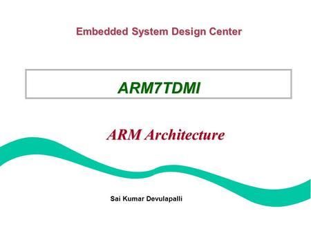 ARM Instruction Sets Programs 2 Outline The ARM Processor ARM Instruct