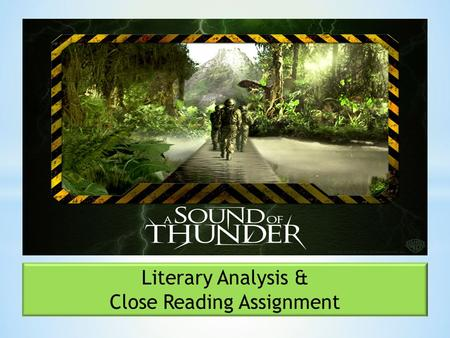 Literary Analysis & Close Reading Assignment. Climax most exciting/suspenseful moment Resolution problems are resolved Complications/Rising Actions new.