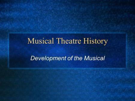 development in the history of music Western music history/medieval music from wikibooks, open books for an open world music history  development of polyphony.