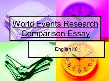 Comparison Essay Conclusion