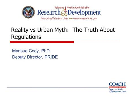 Reality vs Urban Myth: The Truth About Regulations