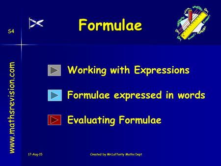 how to change subject of the formula