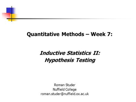 Statistical hypothesis testing - Wikipedia