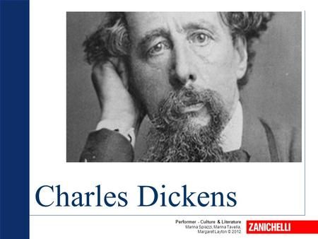 Charles Dickens 1 Performer - Culture & Literature