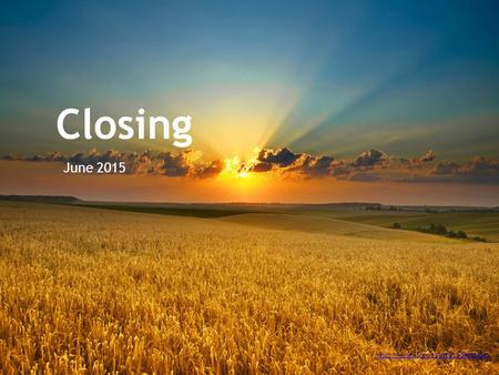 Closing June 2015 https://vimeo.com/114062190#t=2441s.