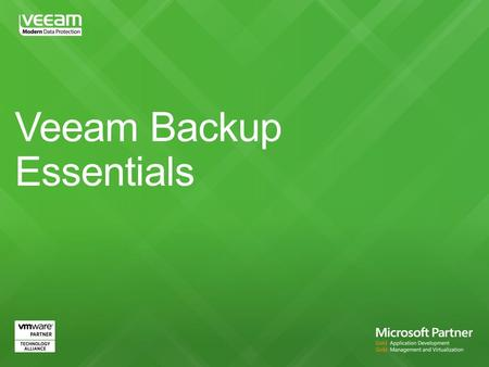 Delivers all the powerful and easy-to-use features and benefits of Veeam Backup & Replication Especially packaged and priced for small businesses to offer.