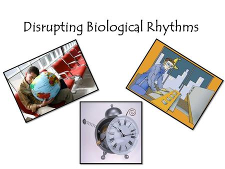 Disrupting Biological Rhythms. Write down all you know about the disruption of biological rhythms.