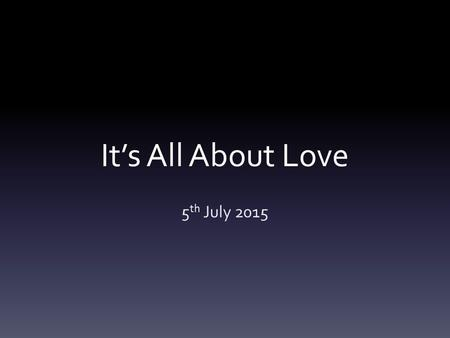 It's All About Love 5 th July 2015. The City of Corinth Regarded the most influential city of Greece. The population = 650,000 250,000 free citizens.