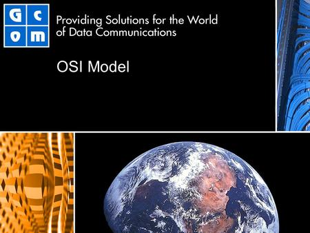 OSI Model. 2 The OSI Model Open Systems Interconnection Standard Model for Data Communications Specified by International Standards Organization (ISO)