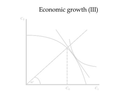 Economic growth (III) 1. Short run or long run? (full adjustment of capital, expectations, etc. Classical or non-classical? (sticky wages and prices,