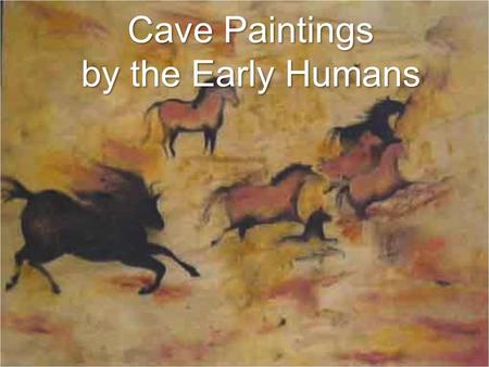 Cave Paintings by the Early Humans. Caves in Lascaux, France Take a TourPictures.