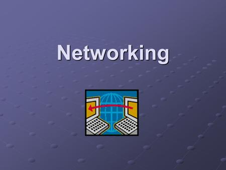 Networking LAN (Local Area Network) A network is a collection of computers that communicate with each other through a shared network medium. LANs are.