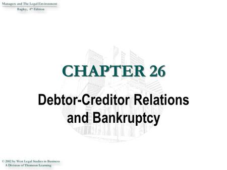 """bankruptcy and debtor creditor relations Bankruptcy trustee to avoid transfers that an actual unsecured creditor could have   debtor's unsecured creditors, to """"stand in the shoes"""" and assert the   importance of understanding the relationship of federal and state law."""