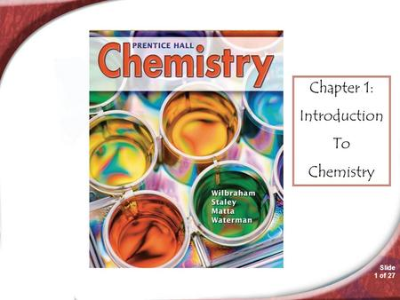 Worksheets Chapter 1 Introduction To Chemistry Worksheet Answers slide 1 of 25 chemistry 3 copyright pearson prentice hall 27 chapter introduction to chemistry