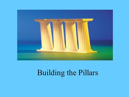 Building the Pillars Lodge Leadership What is Leadership?