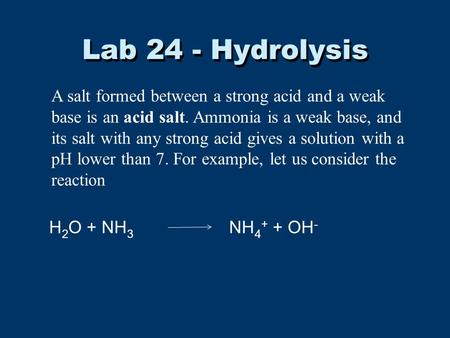commercial bleach lab Experiment 5: determination of sodium hypochlorite in bleach 53  in this lab you will titrate a sample of bleach with sodium thiosulfate (na 2 s 2 o 3.