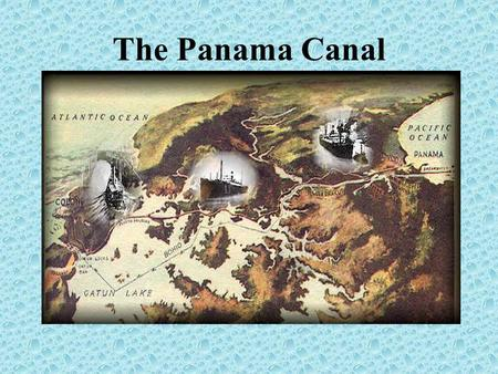 The Panama Canal. Vaco Nunez de Balboa, the Spanish explorer who discovered the Pacific Ocean in 1513, first thought of such a waterway then. In the.