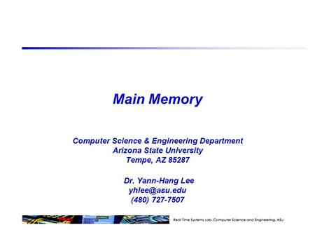 "Memory Technology ""Non-so-random"" Access Technology:"