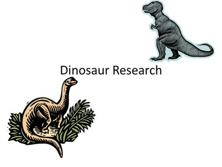 Dinosaur Research.