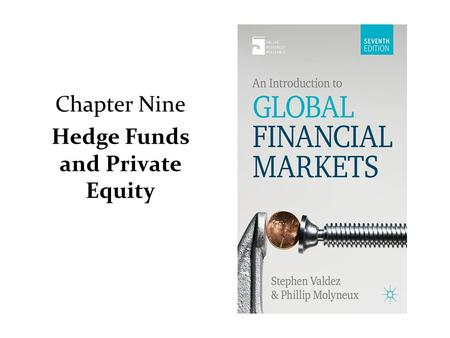 Chapter Nine Hedge Funds and Private Equity. Hedge Fund A hedge fund is an actively managed investment fund that seeks an attractive absolute return,
