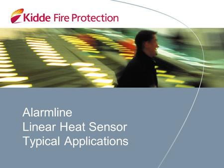 Alarmline Linear Heat Sensor Typical Applications.