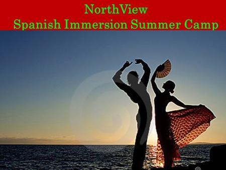 NorthView Spanish Immersion Summer Camp. Spanish Immersion Summer Camp Mission Statement Our mission is to provide our students with thoroughly personalized,