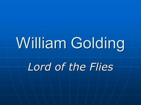 William golding writing style